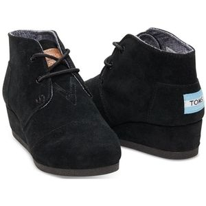 Toms desert wedge booties